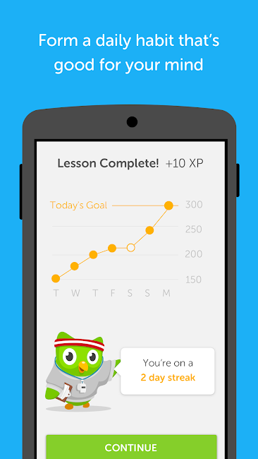 #5. Duolingo: Learn Languages Free (Android)