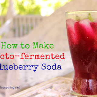 How to Make Lacto-fermented Blueberry Soda