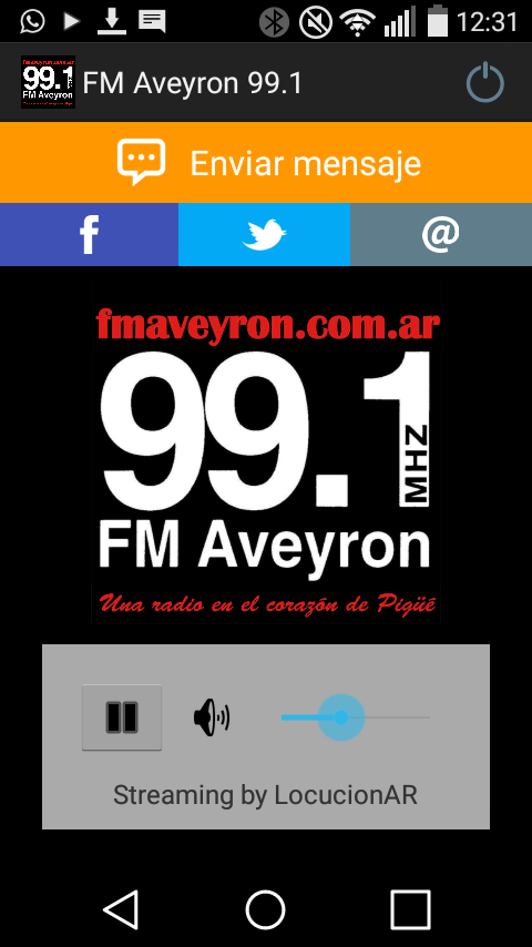 FM Aveyron 99.1- screenshot