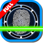 Simulated lie detector icon