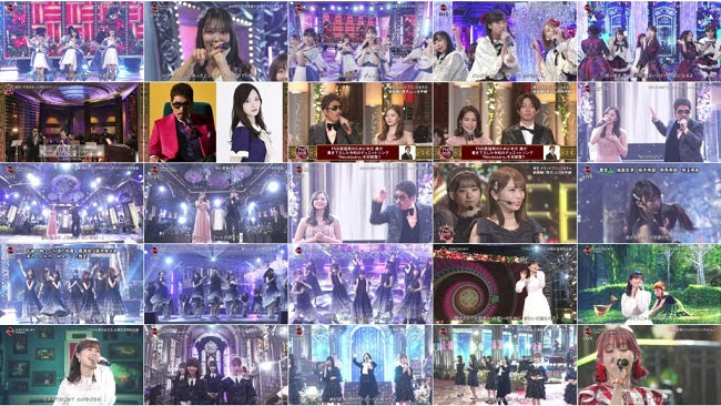 191204 (720p+1080i) FNS Kayousai 2019 1st Night (AKB48 Nogizaka46 Part)