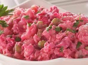 Can't Beet This Potato Salad