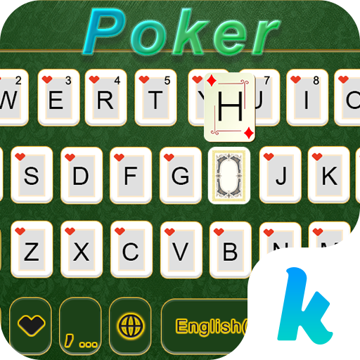 Poker Emoji Keyboard Theme 個人化 App LOGO-硬是要APP
