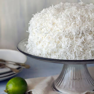 Coconut Cake with Fluffy Coconut Icing.