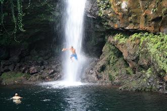 Photo: Jon jumping in