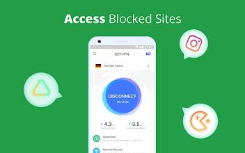 KEY VPN – Secure, Free VPN Proxy screenshot thumbnail