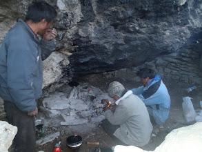 Photo: 3 of them preparing tea...