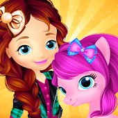 Pony & Girl Dress Up