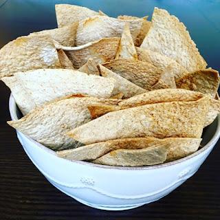 Homemade Healthy Tortilla Chips