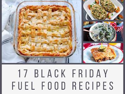 17 Black Friday Fuel Food Recipes
