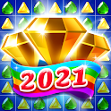 Jewel & Gems Mania 2020 - Match In Temple & Jungle icon
