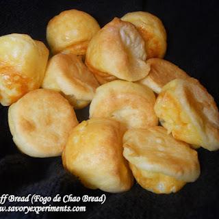 Cheese Puff Bread- Copy Cat Fogo de Chao Bread.