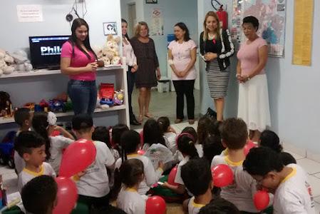 Fundo Social doa brinquedos e equipamentos para Conselho Tutelar II