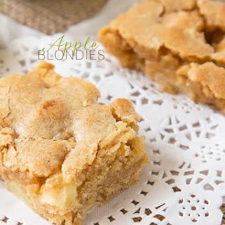 Apple Blondies Recipe
