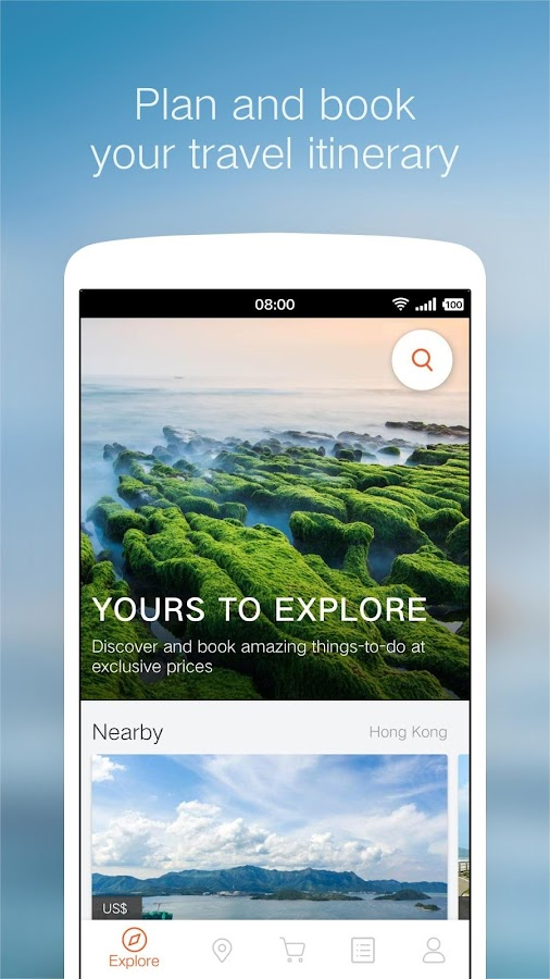 Klook Activities & Attractions- screenshot