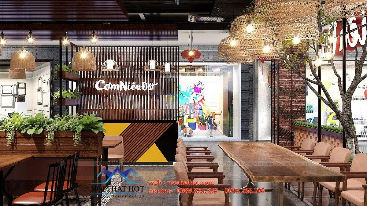 thiết kế nhà hàng sáng tạo