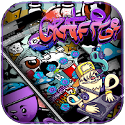 App Rock Graffiti Theme APK for Windows Phone