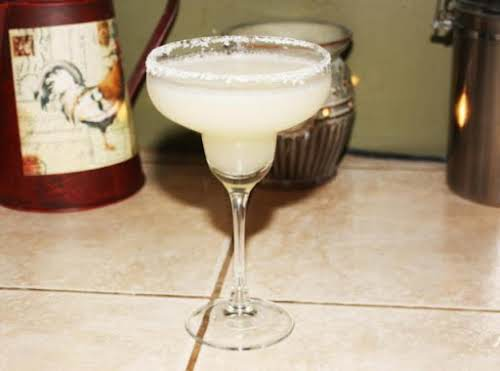 "Margarita""This is an easy peasy way to make margaritas. They are sweet..."