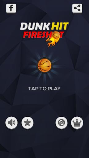 Dunk Hit Fire Shot 1.3 screenshots 1