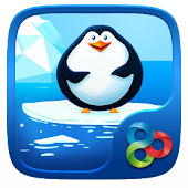 Cute Penguins GO Launcher