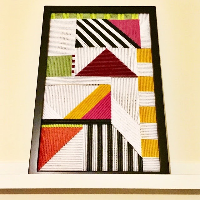 Geometric Yarn Art