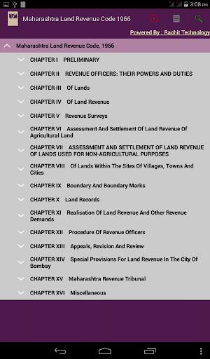 Maharashtra Land Revenue Code