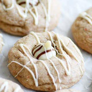 Carrot Cake Blossom Cookies.