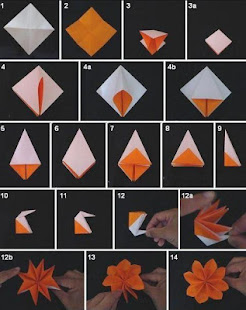 Origami flower tutorial apps on google play screenshot image mightylinksfo