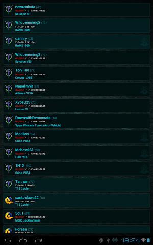 android Killboard - Planetside 2 Screenshot 3