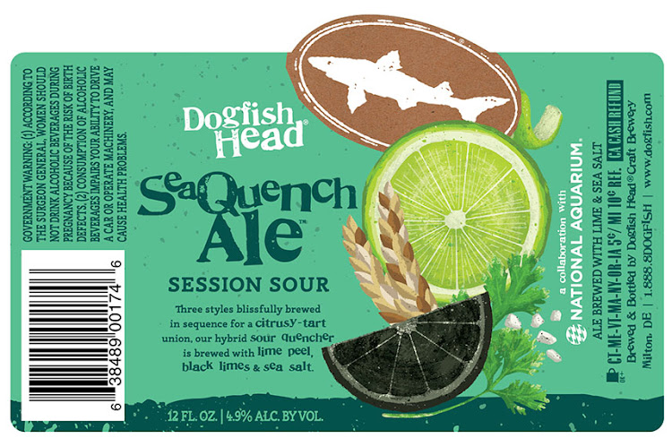 Image result for dogfish head seaquench ale