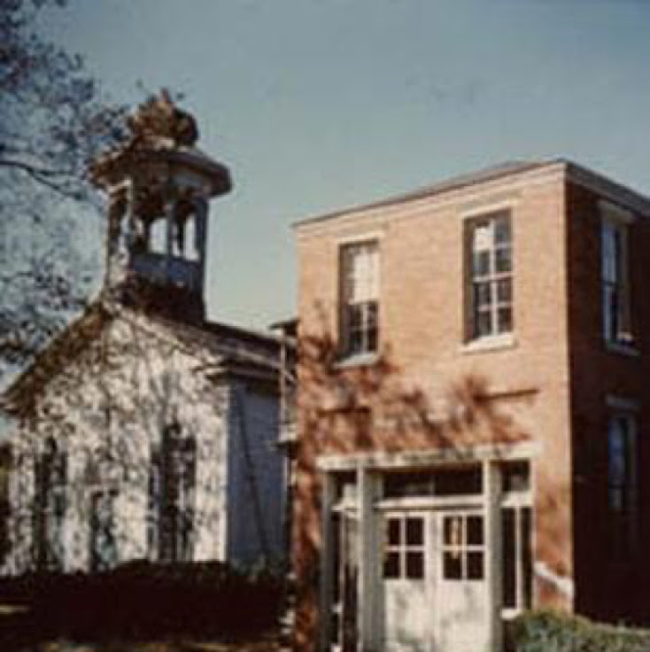 The Cape May Welcome Center in the 1970's.