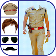 Men Police Suit Photo Editor - Men Police Dress