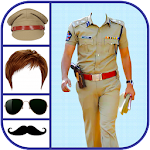 Men Police Suit Photo Editor - Men Police Dress Icon