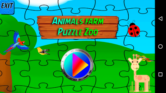 Animals Farm Puzzle Zoo Screenshot