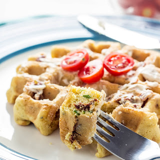 Savory Vegan Gluten Free Waffles