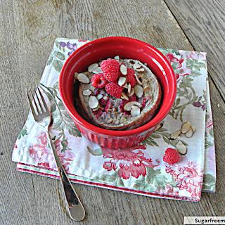 Oatmeal Berry Breakfast Cake [Dairy, Gluten & Sugar Free].