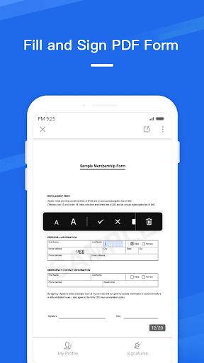 WPS Fill & Sign 1.1.3 screenshots 2