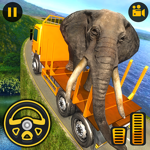 Offroad Wild Animal Truck Driver 2019