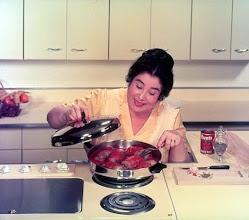 Photo: Amerykańska kuchnia z lat 50-ych XX wieku (1)