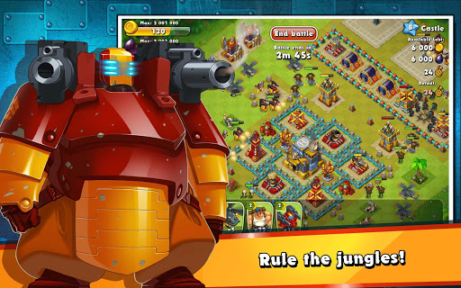 Jungle Heat: War of Clans screenshot 11