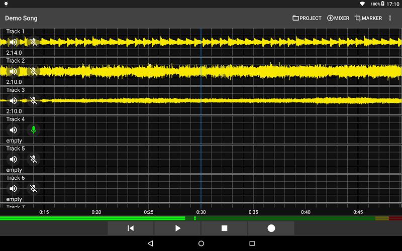 Aubade Audio Studio Screenshot 4