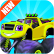 Blaze In Monster Truck Climb game APK