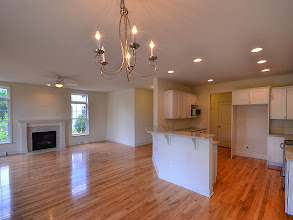 Photo: The living area in one of our Greyledge Townhomes
