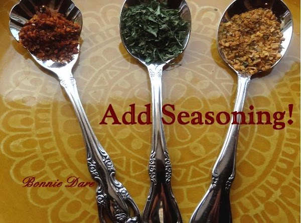 Sprinkle with the remaining seasonings: garlic powder, and a pinch of chipotle pepper. If...