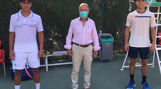 El tenista Carlos Guerrero se proclama campeón de Andalucía cadete