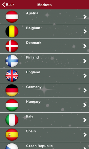 android Christmas Markets Europe 2015 Screenshot 3