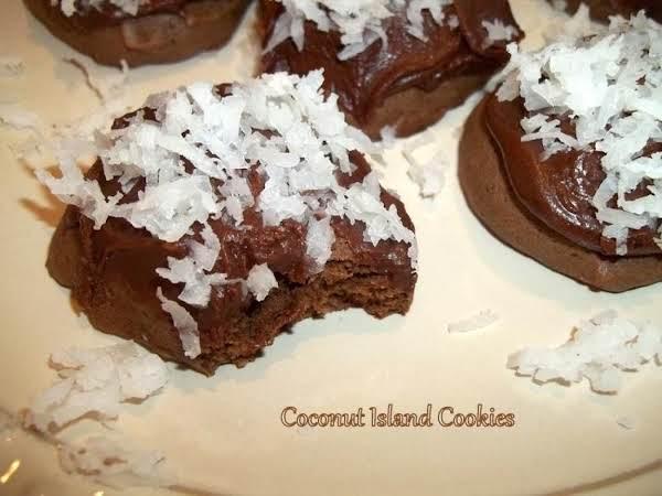 ~ Coconut Island Cookies ~ Grams