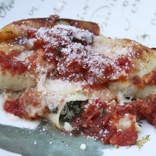 Veal & Spinach Cannelloni