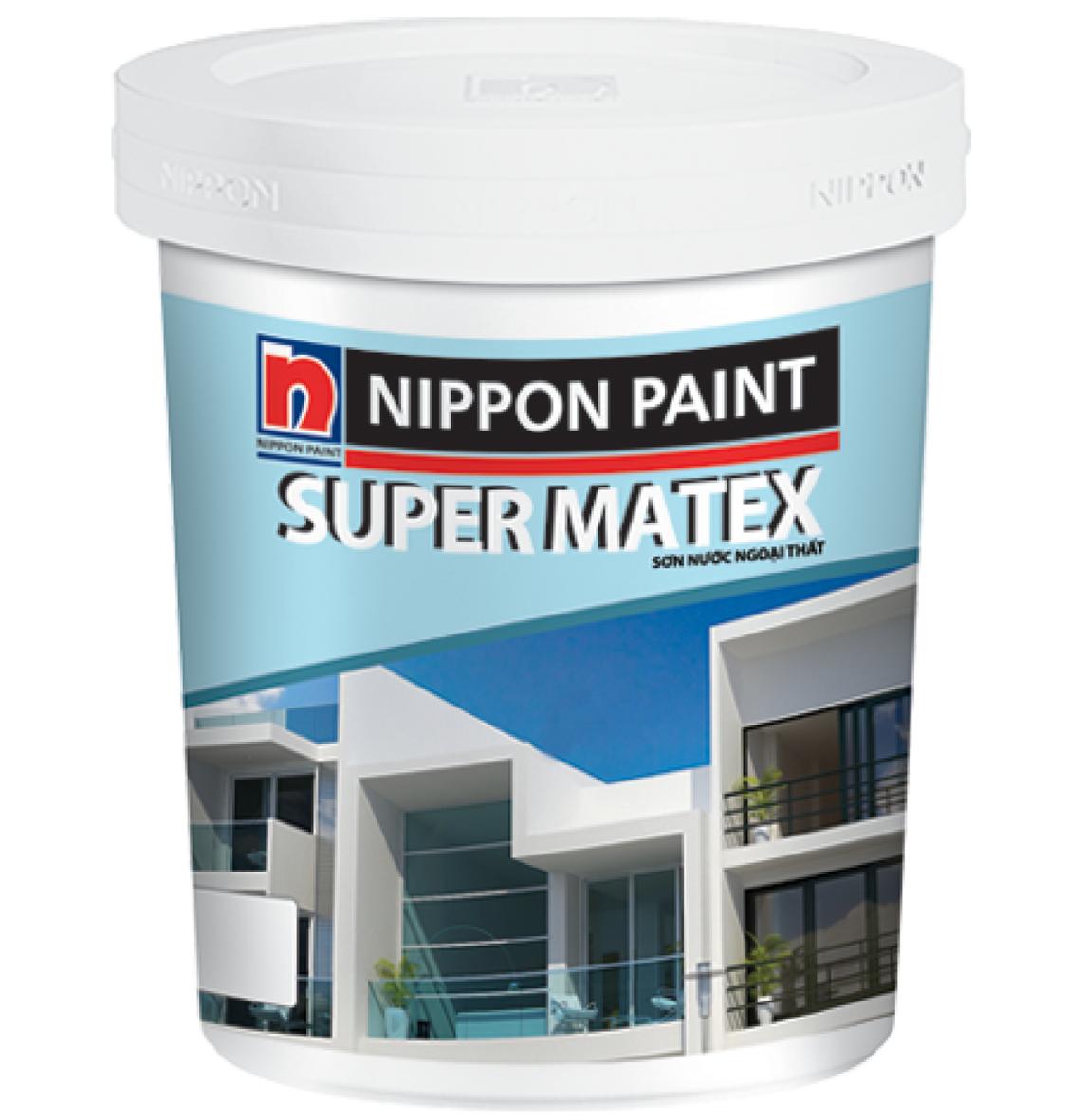 Image result for sơn nippon super matex