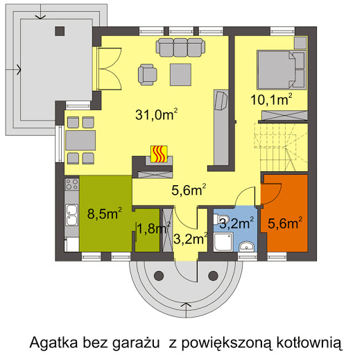 Agatka - Rzut parteru 2